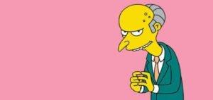 Mr. Burns, Os Simpsons