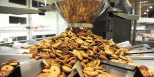 Imagem de um sistema de produção de biscoitos que segue o haccp