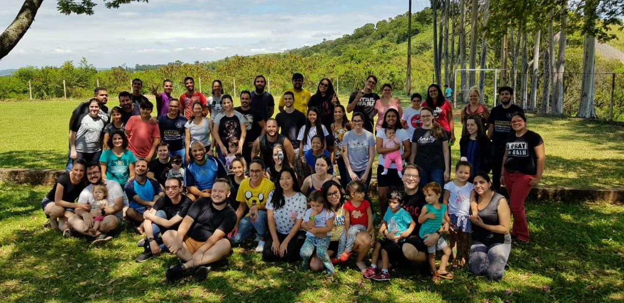 Foto do time Forlogic na Casa da Criança, ação que encerrou o Planejamento Estratégico 2019.