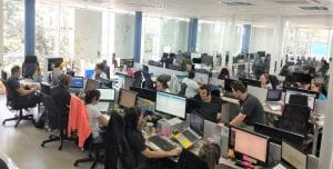 Time Forlogic trabalhando em pro da gestão e excelência.