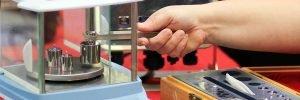 instrumento de calibração mostrando a periodicidade de calibração de instrumentos