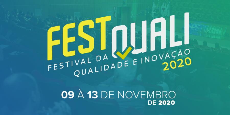 Imagem do banner do festquali 2020. O Brasil ainda precisa de Qualidade a essa altura?