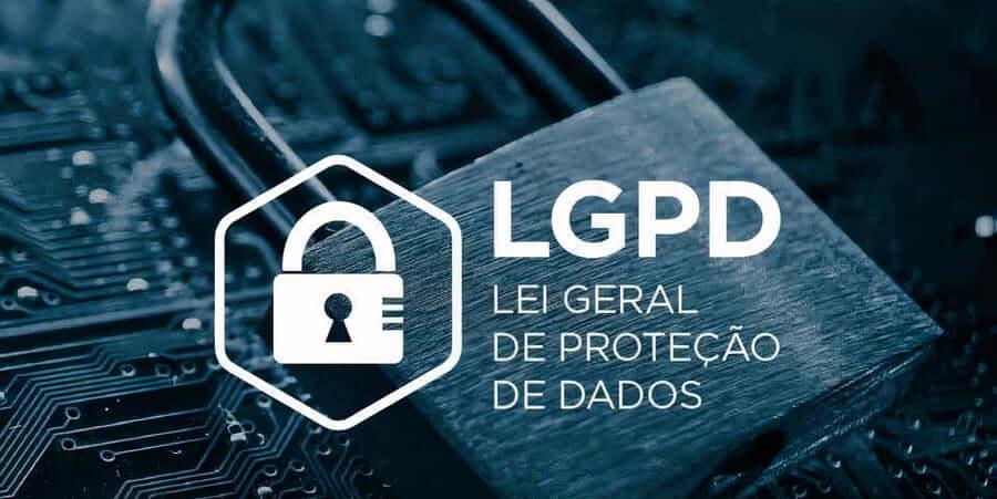 imagem de um cadeado meio escuro com um LGPD escrito na frente.Essa imagem simboliza o artigo sobre Lei geral de proteção de dados