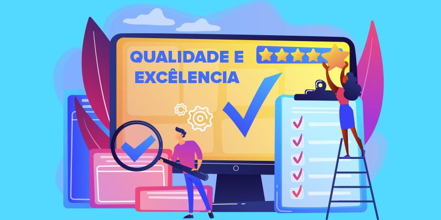 Construindo a qualidade e a excelência em 2021