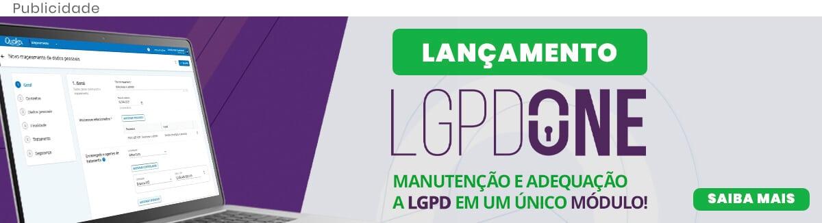 Lançamento LGPDONE